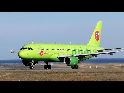 S7 - Siberia Airlines Airbus A320-200