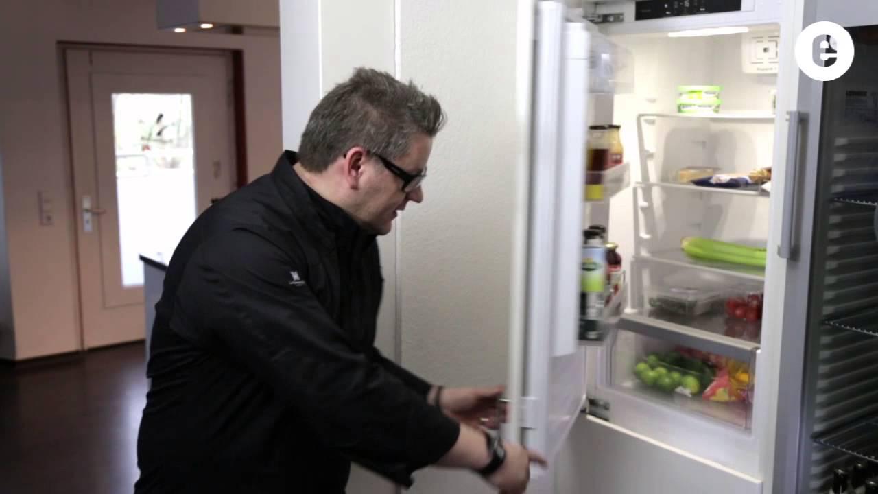 Bosch Kühlschrank Einbau Mit Festtürmontage : Festtür technik bei einbaukühlschränken ekinova der