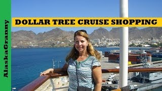 Dollar Tree Cruise Shopping Must Have Items Tips for Cruising