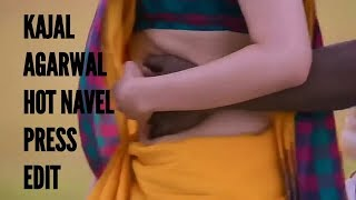 Hot KAJAL AGARWAL NAVEL PRESS full edit HD