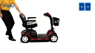 Pride Victory 10 Mobility Scooter 4 Wheel Victory 10 Scooter Review USA