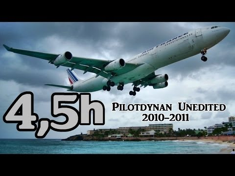 4.5 hours of HD Plane-Spotting (PilotDynan Unedited 2010-2011)