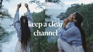 how i keep my energetic channel clear