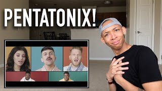 Singer Reaction to Attention by Pentatonix