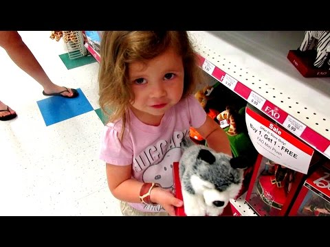TOY HUNTING SHOPPING Ep 57 - Finding Dory, Pokemon, Dollhouse Furniture, Games