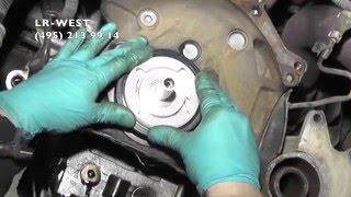 Замена сальника коленвала на дизельном двигателе Ленд Ровер Фрилендер 2(В данном ролике показана особенность и актуальность правильной установки заднего сальника коленвала на..., 2016-03-31T15:39:00.000Z)