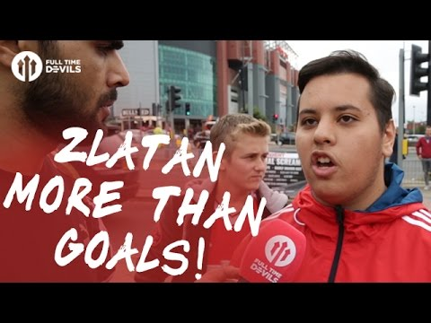 Zlatan More Than Goals! | Manchester United 4-1 Leicester City | FANCAM