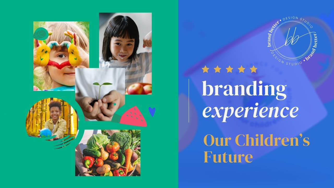 Michelle Riddle's Branding Experience - Our Children's Future by Brand Better