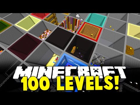 Minecraft 10 MINUTE PARKOUR RACE! | (OVER 101 NEW 1.9 JUMPS & LEVELS)