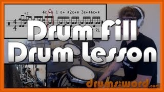 ★ Next Year (Foo Fighters) ★ Drum Lesson | How To Play Drum FILLS (Dave Grohl/Hawkins)