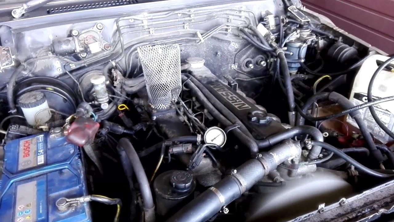 nissan patrol 4 2 diesel td42 manual youtube rh youtube com Nissan Z24 Engine Modification 1995 Nissan 2.4 Engine