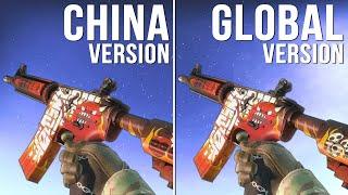 CS:GO - China Version vs Global Version Weapon Skins (Part 04) [Comparison]