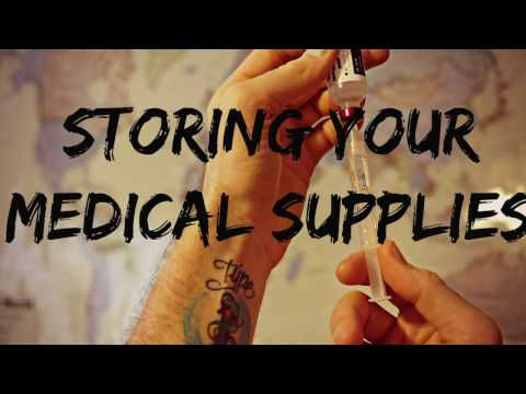 Condensing Medical Supplies for LONG TERM TRAVEL - Omnipod and Dexcom Version