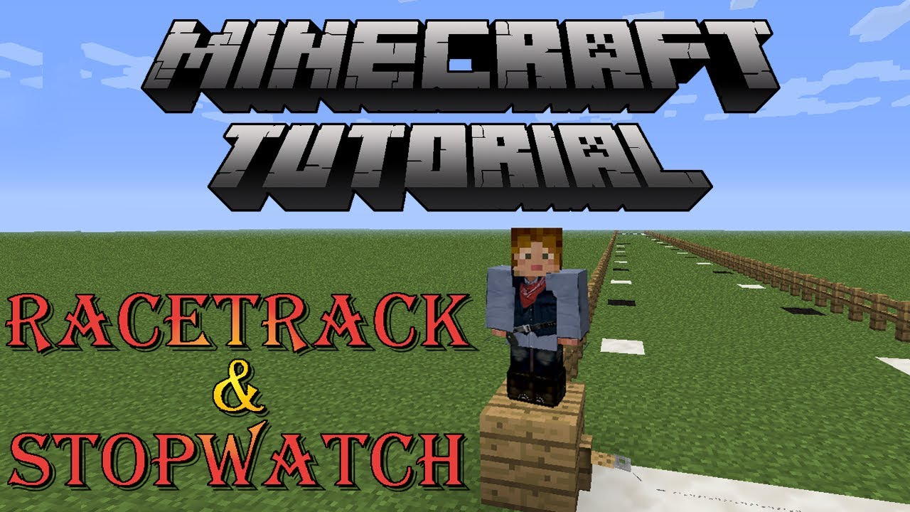 how to make a stopwatch in minecraft