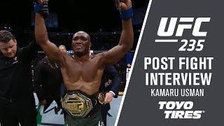 UFC 235: Kamaru Usman -