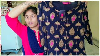 AFFORDABLE KURTI HAUL UNDER Rs.350| KURTIS BETTER LIKE AMAZON, MYNTRA, JABONG |MY VISHAL