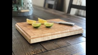 End Grain Cutting Board (Maple)