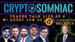 📈Trader Talk Live Ep 6 -What Are The Best Chart Indicators? | Guest DeCrypto Markets 💱💰