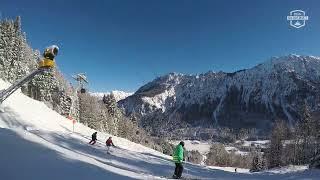 Skigebiet Oberstdorf: Talabfahrt Fellhorn