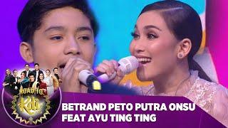 Download Lagu TERBAIK! Duet Betrand Peto Putra Onsu dan Ayu Ting Ting Yang Paling Keren  - Road To KDI 2020 (13/7) mp3
