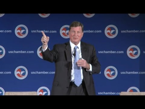 CEO Fanning delivers keynote address at U.S. Chamber's Fourth Annual Cybersecurity Summit