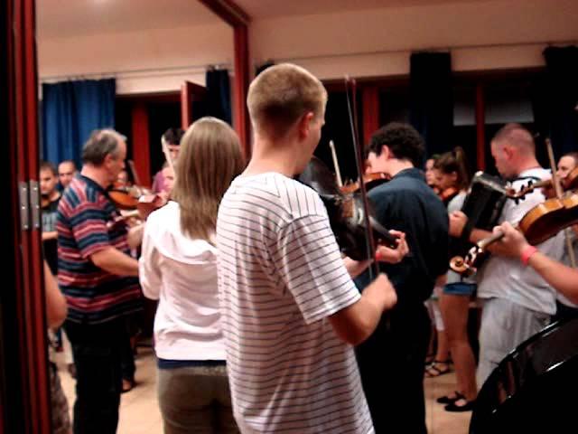 Méta tábor 2011_6 - Papp István Gázsa és a hegedűsök