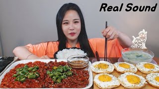 [Sub]/ [ pickled squid ] [ pickled octopus ]  /Mukbang eating show yummy