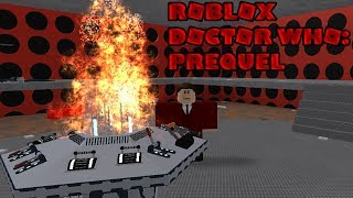 Roblox Doctor Who Series 1 Prequel.