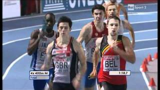 4x400m Relay Men Final European Athletics Championships 2011, Paris