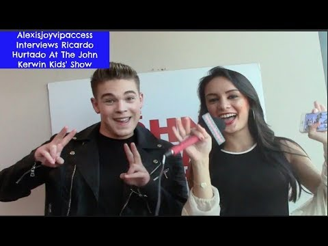 School Of Rock's Ricardo Hurtado Talks About The Emmys - Int