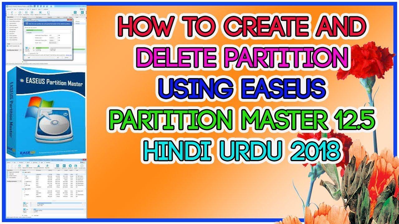 easeus partition master 12