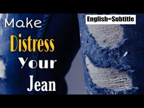 2-best-method-to-distressed-denim-jeans-at-home- -easy-diy-tutorial