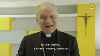 A educação por si só é um resgate! Mensagem de Dom Vincenzo ao Colégio Católico Comunidade Resgate.