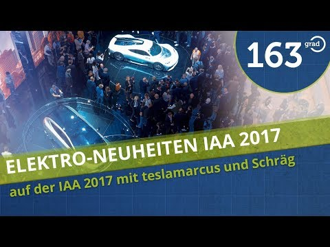 IAA Frankfurt 2017 Neuheiten Elektroautos und ConceptCars 4k Deutsch