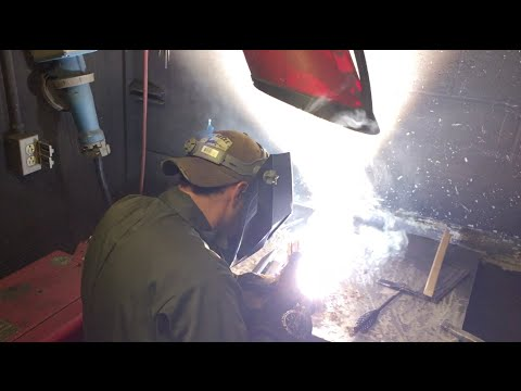 Midnight Welding Class at Community College of Allegheny County (CCAC)