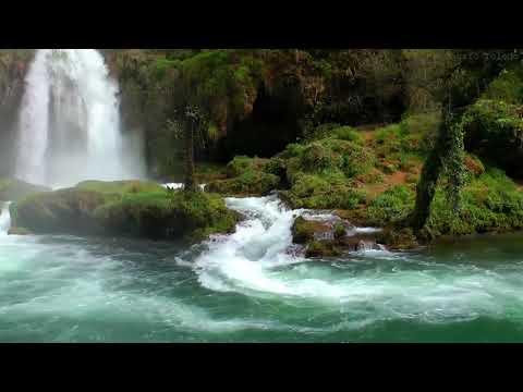 Водопад. Звуки природы. Медитация. Релакс.