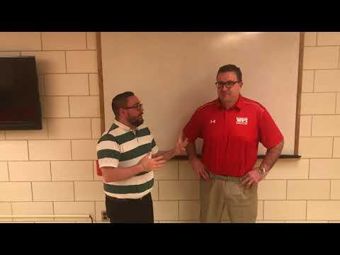 WPI Wrestling Post-Match Interview - head coach Steve Hall