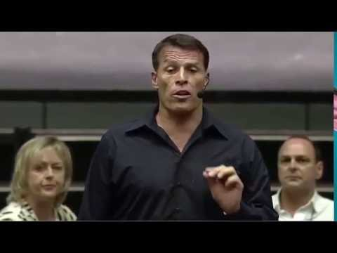 Tony Robbins at Total Success 2016 - being the best you can be