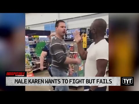 Male Karen Wants To FIGHT, But FAILS