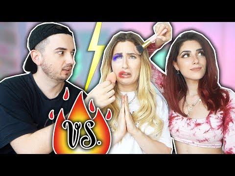 Boyfriend vs. Beauty Guru - wer schminkt mich besser? mit Luisa Crashion & Marcel
