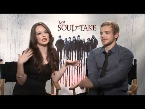 Wes Craven, Max Thieriot, Emily Meade on MY SOUL TO TAKE