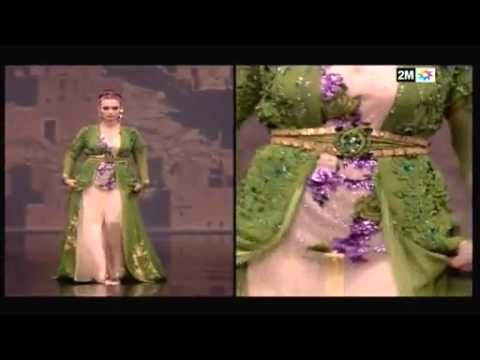 Caftan 2014 défilé - Siham EL Habti - YouTube b616e429fcd