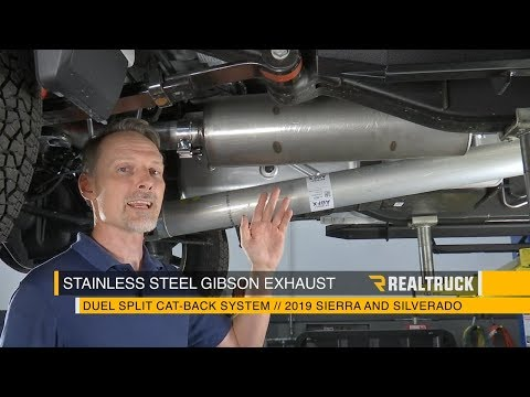How to Install Gibson Exhaust Systems on a 2019 GMC Chevy 1500 Crew Cab 5.3 V8
