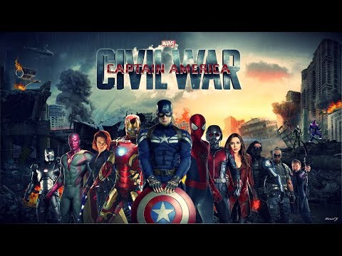 Captain America Civil War 2016 720p BRRip [Dual Audio] [Hindi] BY Ting Tong Movies