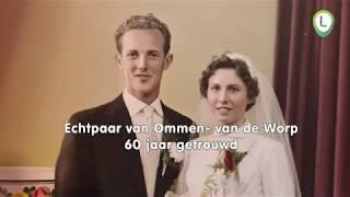 Echtpaar van Ommen  van de Worp 60 jaar getrouwd
