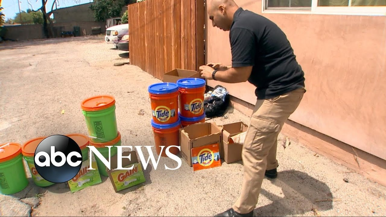 Authorities Crack Down on Alleged Counterfeit Laundry Detergent