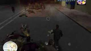 GTA Long Night Mod Zombie Streets FreeRoam