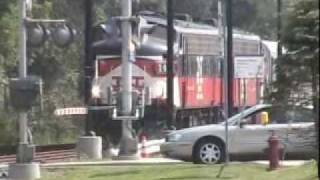 Metro-North Railroad upper Harlem and Danbury action F-units and new BL20GH