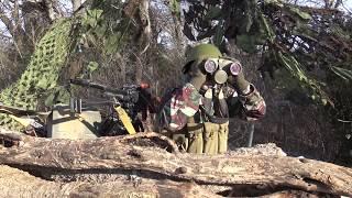 Enemy machine gun position