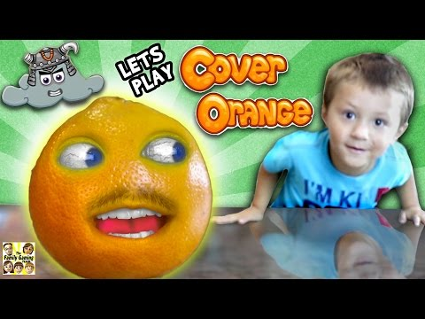 Thumbnail: Chase & the Orange who's Annoying! (FGTEEV GAMEPLAY / SKIT with COVER ORANGE iOS Game)